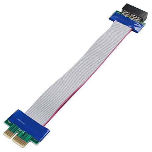PCI-エクスプレス PCI-E 1Xライザカード フレックス エクステンダー 延長ケーブル PC用