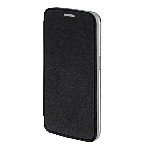 Hama Clear Folio schwarz–Hüllen für Mobiltelefone (Folio, Samsung, Galaxy S7Edge, Schwarz)