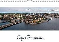 City - Panoramen (Wandkalender 2022 DIN A4 quer): Stadtansichten im XXL-Format (Monatskalender, 14 Seiten )