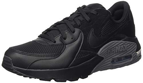 Nike Air MAX Excee, Zapatilla De Correr Hombre, Black/Black/Dark Grey, 40.5 EU