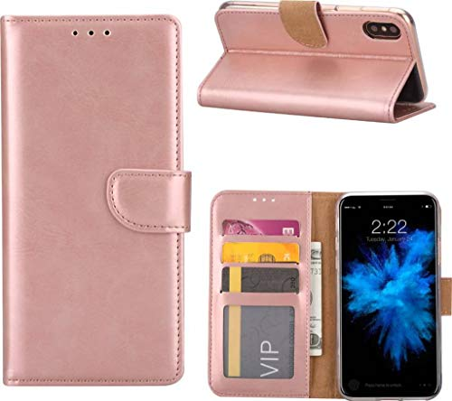 iPhone 7+ (Plus) / iPhone 8 Plus Portemonnee hoesje/booktype case Rose Goud