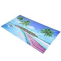 水槽の壁紙水族館の壁の背景画像サンシャインコーストサンシャインビーチPVC100g /3.5oz水槽用水槽の装飾用