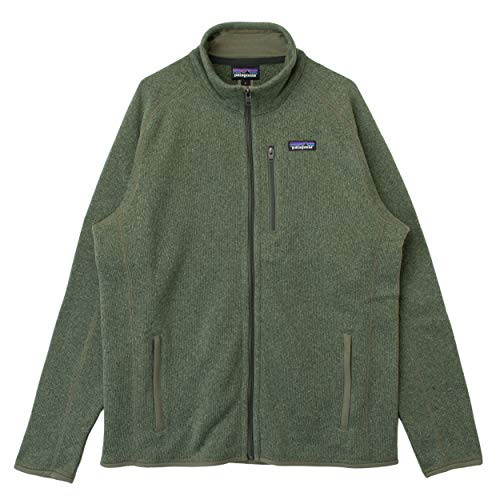 PATAGONIA M's Better Sweater Jkt Maglione, Industrial Green, L Regular Uomo