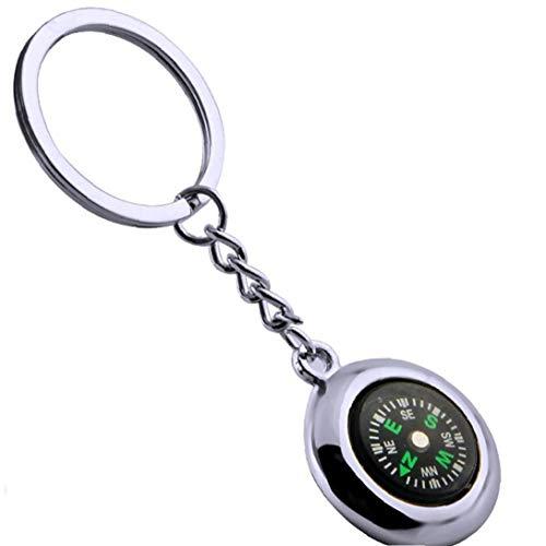 Kompasse Keychain Beweglicher Im Freien Reise Überlebens-Werkzeug Kompasse Navigation Keyring Für Abenteuer-Liebhaber
