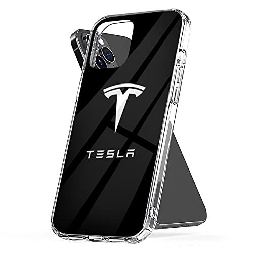 Phone Case Compatible with iPhone Best Accessories to Shock Buy Scratch - Waterproof Tesla Logo 6 7 8 Plus Se 2020 X Xr 11 Pro Max 12 Mini