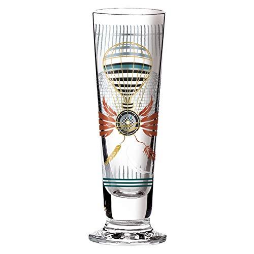 Ritzenhoff Black Label Schnapsglas, Kristallglas, Gold, Platin, 3.5 cm