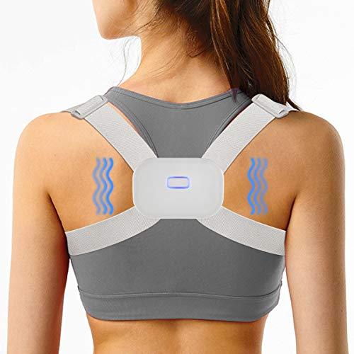 Smart Back Brace Posture Corrector for Wemen Men Kids, Intelligent Sensor Vibration Reminder Posture Corrector,Providing Pain Relief and Improve Posture