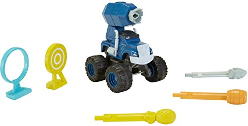 Fisher-Price – Blaze et les Monster Machines – Cannon Blast Crusher – Mini Véhicule + Accessoires