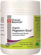 Oriental Botanicals Magnesium Excel Powder Watermelon 300 g, 300 grams