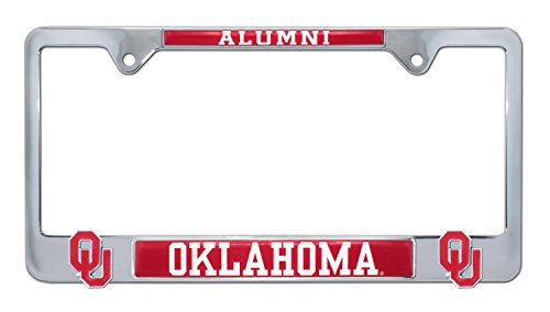 University of Oklahoma 'Alumni' 3D License Plate Frame
