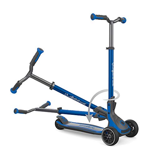 Globber Unisex Jugend ULTIMUM Scooter, blau, One Size