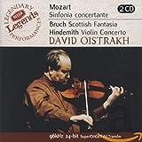 Mozart: Sinfonia Concertate; Duos/ Bruch: Scottish Fantasia; Concerto No 1 / Hindemith: Violin Concerto
