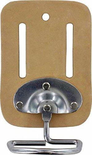 Porte en cuir avec anse métallique