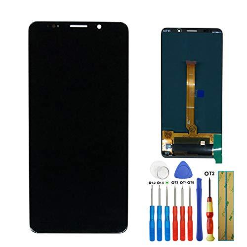 Amoled volledig touchscreen beeldscherm digitizer voor Huawei Mate 10 Pro BLA-L09 BLA-L29 display blauw glas + lijm + gereedschap