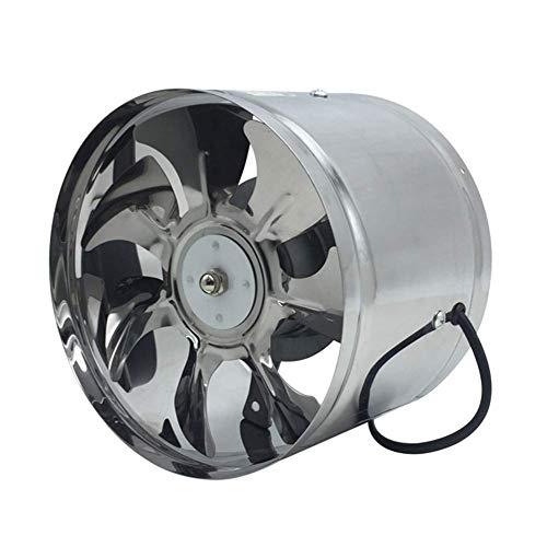 Extractor de baño Ventilador, extractor de cocina Ventilador de ventilador Booster Bajo ruido para ventilaciones en línea Soplador de escape Aire seleccionable 150/170/195/245/297 mm Motor de devanado