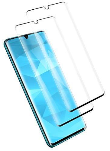 PUUDUU [2 Piezas Cristal Templado para Xiaomi MI Note 10, Vidrio Templado, [3D Cobertura Completa] [Sin Burbujas] [Anti-Scratches],Protector de Pantalla para Xiaomi MI Note 10