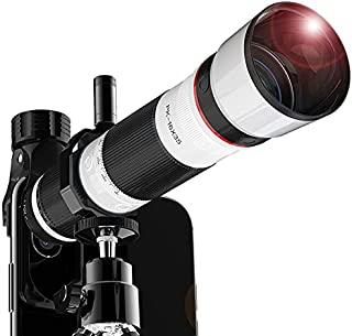 Take-One(テイクワン) スマートフォン用望遠レンズ スマホ用望遠レンズ スマホカメラ カメラレンズ 単眼鏡 望遠鏡 35倍 広角レンズ クリップ式 高倍率 遠距離撮影 三脚付 ケース付 写真撮影 ズームレンズ iPhone Android