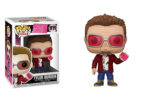 Pop! Movies: Fight Club- Tyler Durden w/Chase and Buddy (Edicion Especial)