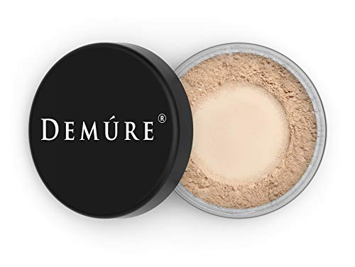 Mineral Makeup, Medium Foundation Powder, Loose Mineral Make Up, Concealer Makeup, Natural Makeup Made with Pure Crushed Minerals, Loose Face Powder. Demure Mineral Makeup