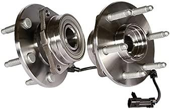 Callahan 515036X2 [2] Pair FRONT Premium Grade [ 6 Lug 4WD AWD ABS ] Wheel Hub Bearing Assemblies [ 515036 ]