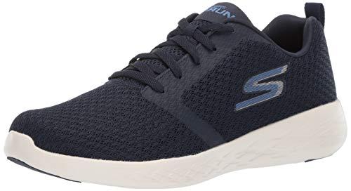 Skechers Men's GO RUN 600 Trainers, Blue (Navy Textile/White Trim Nvw), 7.5 UK (42 EU)