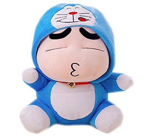 Life Star Super Cute Crayon Shin-chan Cos Superman Plush Toys Dolls 35cm (Color2)