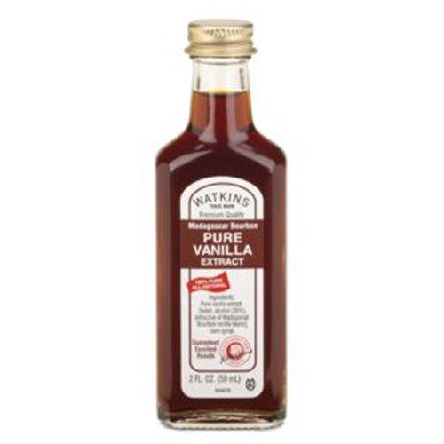 Watkins Madagascar Bourbon Pure Vanilla Extract, 2-Ounce (Pack of 2)