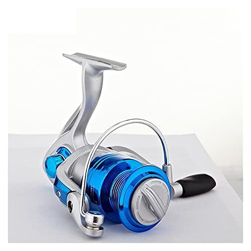 rhtsbts Carrete de Metal Spinning Carrete de Pesca reemplazo de reemplazo Carpa Salina de Agua bajo Pica rueda1000-4000 Carpa Carrete Rueda Rueda de Pesca (Spool Capacity : 2000 Series)