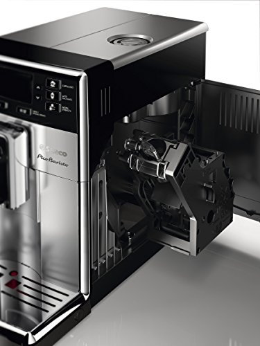 Saeco picobaristo super automatic espresso machine, countertop, piano black, hd8927/37 7 the largest variety from a compact machine: brews 11 coffee varieties enjoy up to 5, 000 cups of coffee without descaling delicious hot cappuccino and latte macchiato at one touch