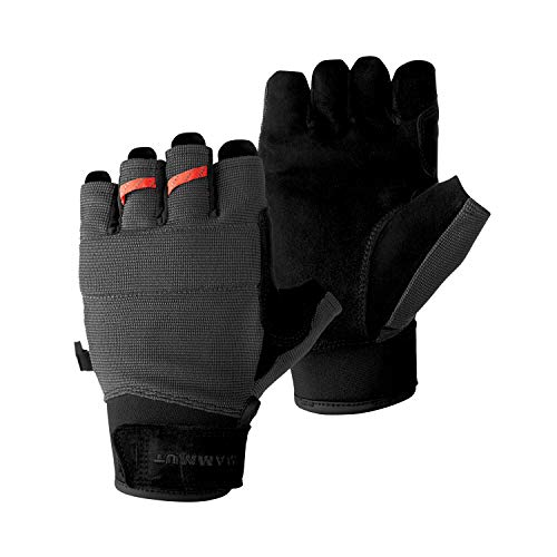 Mammut Pordoi Handschuhe, Black-Graphite, 10