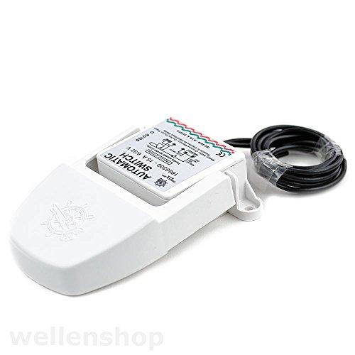Schwimmerschalter Switch für Bilgenpumpe 12V 24V Schalter für Wasserpumpe Lenzpumpe Schlauchboot Schwimmschalter für automatisches Abpumpen in Booten