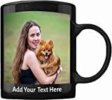 Custom Coffee Mugs - ADD YOUR NAME TEXT LETTERS or...