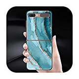 Phone Case Pour Samsung Galaxy Z Flip Cover For ZFlip 5G Cover Black Hard Shell Back Cover Luxury...