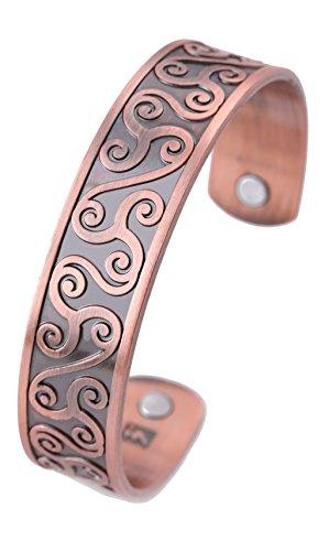 Pulsera magnética con símbolo celta para circulación sanguínea