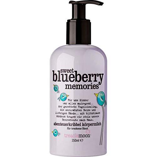 Treaclemoon Sweet Blueberry Memories Körpermilch Körpercreme Bodymilk Vegan, 350 ml