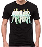 Photo de Homme Backstreet Boys T Shirt à Manches Courtes à Col Rond et Coupe Ajustée Noire M