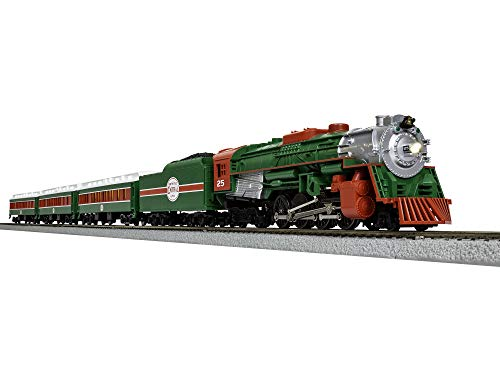 Lionel The Christmas Express Electric HO Gauge Model Train Set with Remote and Bluetooth Capability