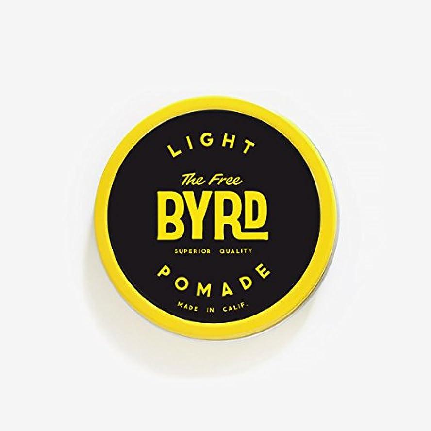 """スリーブブレースプレミアバード(BYRD) カリフォルニア発ポマード288""""LIGHT POMADE""""SMALL(スモールサイズ)ライトスタイルヘアワックスヘアスタイリング剤耐水性香料メンズ/レディース 【LIGHT】SMALL"""