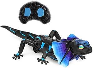 SOWOFA RC Animals Remote Controls Infrared Sensing Lizard Realistic Toy Moving Walking Color Change w/ Sound Lighting Electric Pet Joke Toys