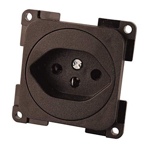 Fawo stopcontact Zwitserland type 13 bruin SB-verpakt