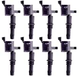 MAS Ignition Coils Compatible with Ford Lincoln Mercury V8 V10 4.6L 5.4L 6.8L 2005-2008 Replacement for DG511 C1541 FD508(Pack of 8)