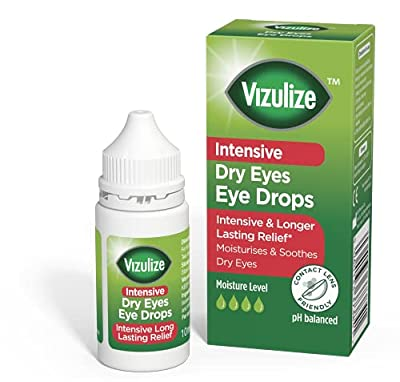 Vizulize Intensive Dry Eye Drop 10ml for Intensive and Longer Lasting Relief from Vizulize