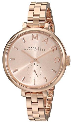 Marc by Marc Jacobs Reloj analogico para Mujer de Cuarzo con Correa en Acero Inoxidable MBM3364