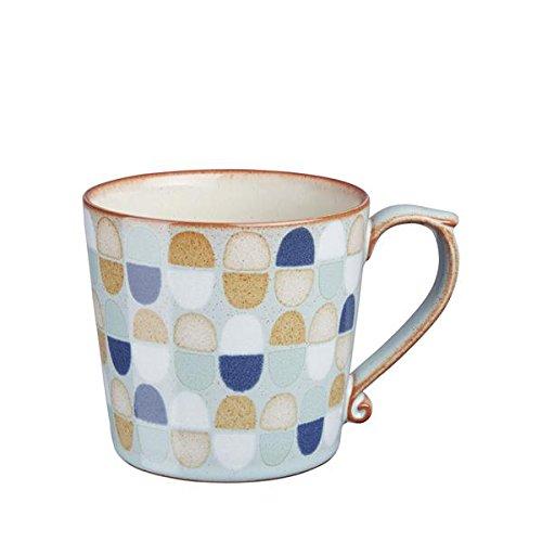 Denby Accent Mug, Large, Pavilion Blue, Set of 4