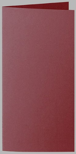 Artoz 1001 E6 bordeaux rood portret dubbelkaart (pak 100)