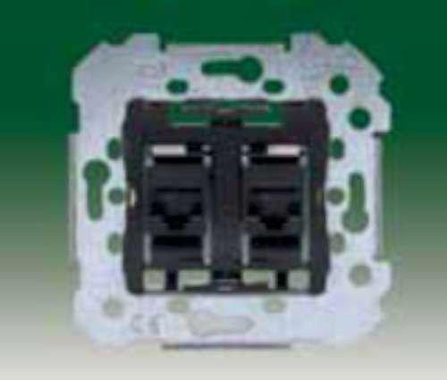 Bjc - 18586-2 toma doble rj45 categoria 6 Ref. 6538010352