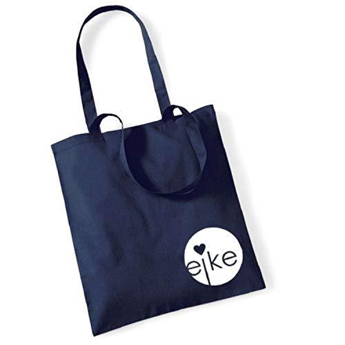 Eike, Borsa a mano donna Blu blu scuro 42 x 38 cm