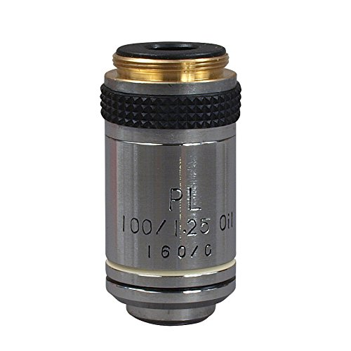OMAX PL 100X Objective for Metallurgical Microscopes
