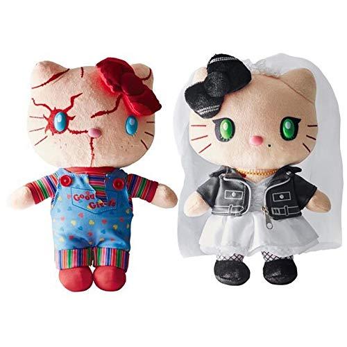 MINTIA23 cm , Film Gioco da bambini , Animali di peluche di peluche , Simpatici cartoni animati di peluche per i regali di compleanno dei bambini 23 cm Chucky Tiffany coppia