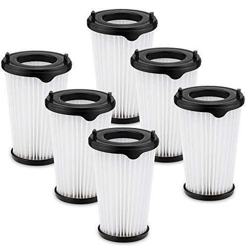 Isincer 6 Stück CX7 Filterset Kompatibel mit allen Staubsaugern der Modelle AEG CX7-2 und HX6, HEPA-Ersatzfilter Passend für CX7-2-30DB, CX7-2-30GM, CX7-2-45AN